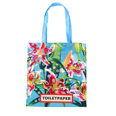 Toiletpaper トートバッグ Flowers With Holesの商品画像