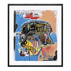 バスキア:Untitled (Skull) フレーム付ポスターの商品画像
