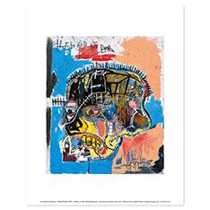 バスキア:Untitled (Skull) ポスターの商品画像