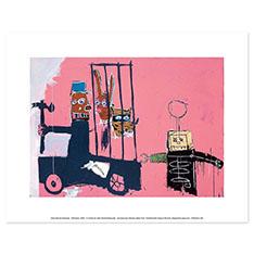 バスキア:Molasses ポスターの商品画像