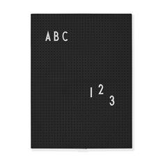 Arne Jacobsen メッセージボード A4 ブラックの商品画像