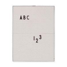 Arne Jacobsen メッセージボード A4 ライトグレーの商品画像