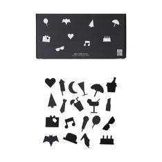 Arne Jacobsen メッセージボード パーティー アイコン ブラックの商品画像