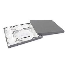 サヴォネ 仕切り皿セット マットホワイトの商品画像