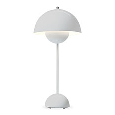 フラワーポット ランプ ホワイトの商品画像