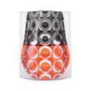 D-BROS フラワーベース ブラックオレンジ Lの商品画像