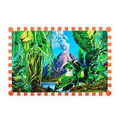 Seletti Wears Toiletpaper プレースマット Volcanoの商品画像