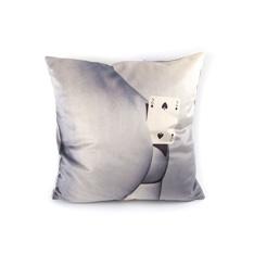 Seletti Wears Toiletpaper クッション Two Of Spadesの商品画像