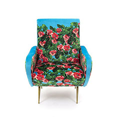 Seletti Wears Toiletpaper アームチェア Rosesの商品画像