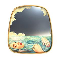 Seletti Wears Toiletpaper ミラーゴールドフレーム S Sea Girlの商品画像