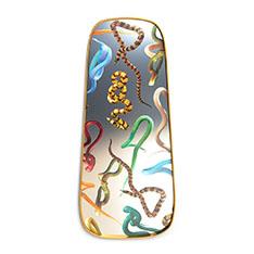 Seletti Wears Toiletpaper ミラーゴールドフレーム M Snakesの商品画像