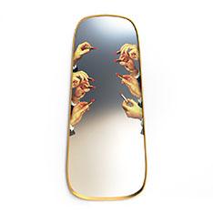 Seletti Wears Toiletpaper ミラーゴールドフレーム M Lipsticksの商品画像