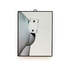 Seletti Wears Toiletpaper ミラー スモール Two Of Spadesの商品画像