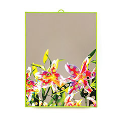 Seletti Wears Toiletpaper ミラー ラージ Flowers With Holesの商品画像