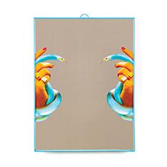 Seletti Wears Toiletpaper ミラー ラージ Hands & Snakesの商品画像