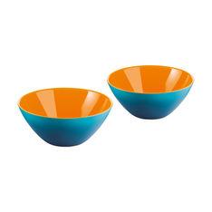 グッチーニ マイ フュージョン ボウル ミニ 2個セット ブルー/オレンジの商品画像