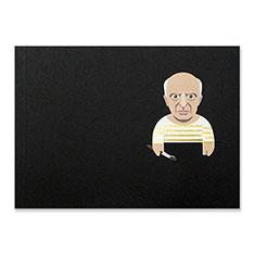 アーティストゴールドスケッチ ピカソの商品画像
