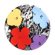 ウォーホル: Flowers インテリアプレートの商品画像