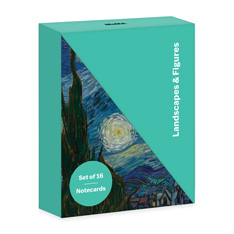 MoMA Landscapes & Figures ノートカードセットの商品画像
