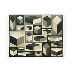 MoMA Sol Lewitt ダブルサイド ジグソーパズルの商品画像