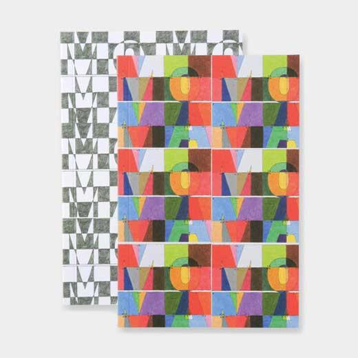 MoMA Design Store (旧MoMA STORE)YOSHIMOTO ロゴ ルールド ノートブック セット S