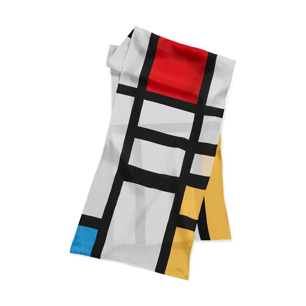 MoMA モンドリアン スカーフ