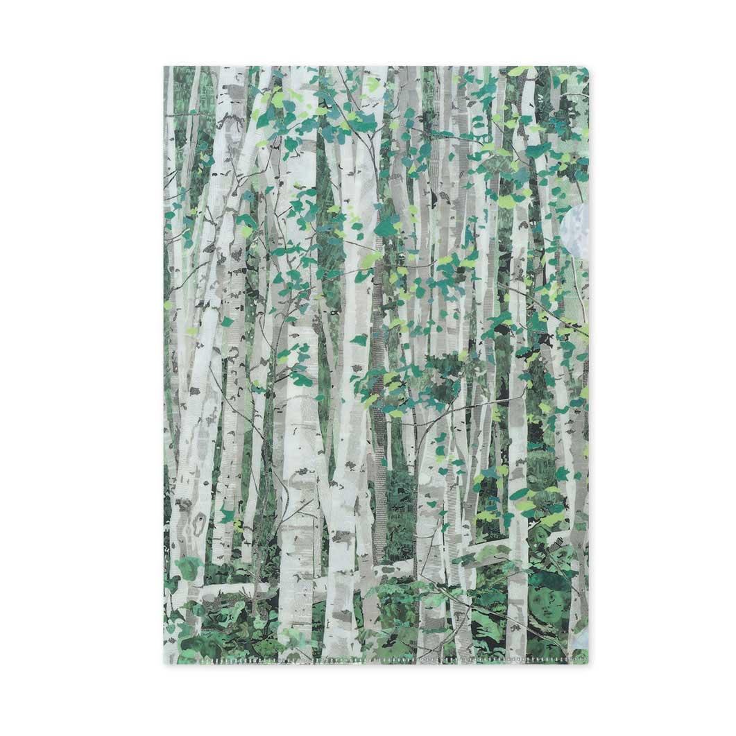 MoMA オーデンバッハ:Trees クリアフォルダー