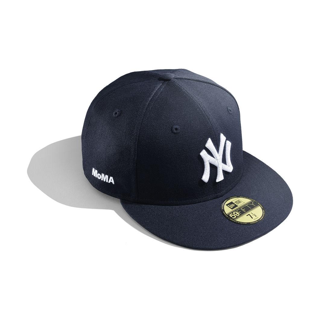 NY ヤンキース ベースボールキャップ 7 3/8 (58.7cm) MoMA Limited Edition
