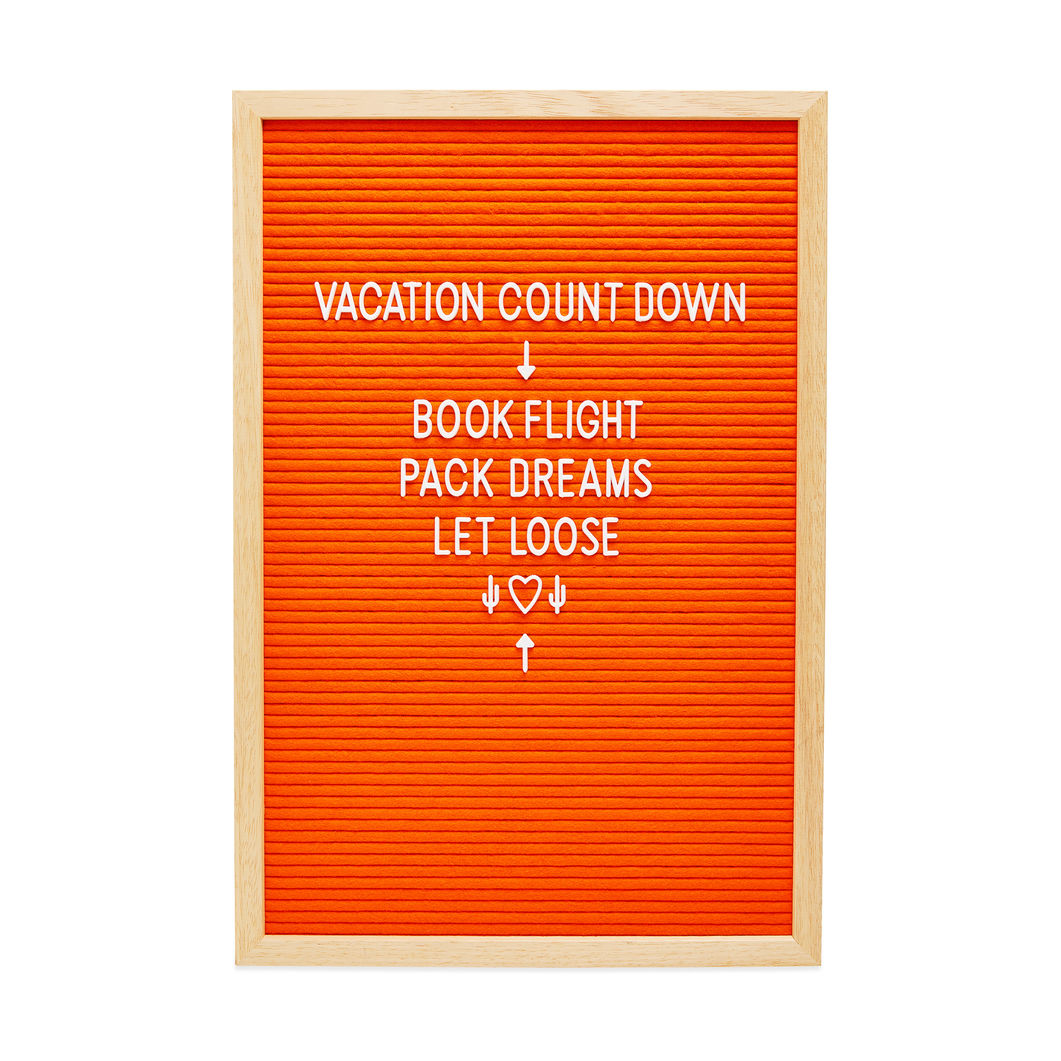 MoMA Design Store (旧MoMA STORE)レターボード ミディアム オレンジ