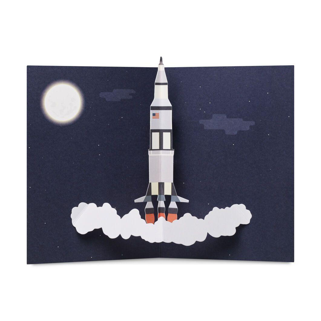 MoMA ポップアップカード ロケット