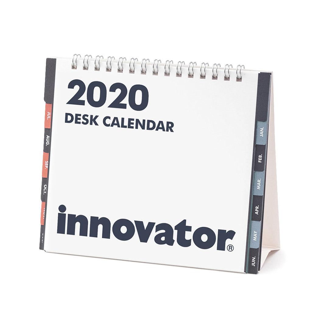 イノベーター デスクカレンダー 2020