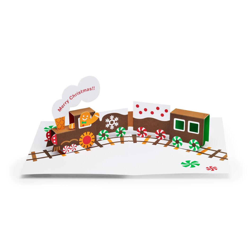 MoMA クリスマスカード ジンジャーブレッド トレイン