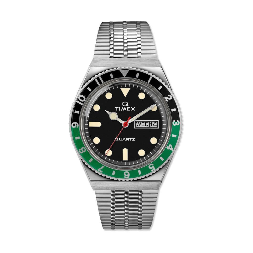 Timex Q 1979 ウォッチ グリーン/ブラック