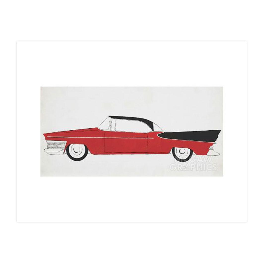 ウォーホル:Car ポスター