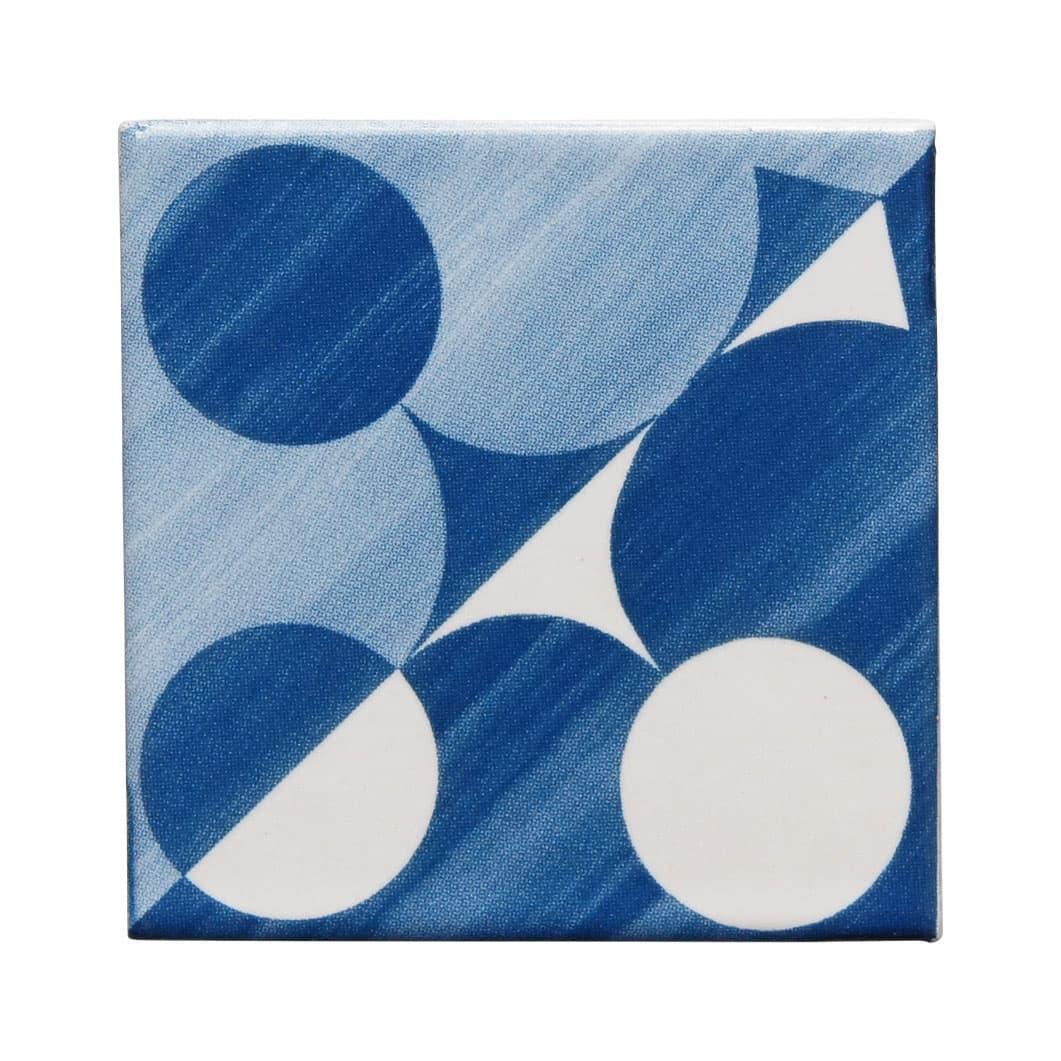 ジオ・ポンティ マグネット付き ミニチュアタイル パターン1