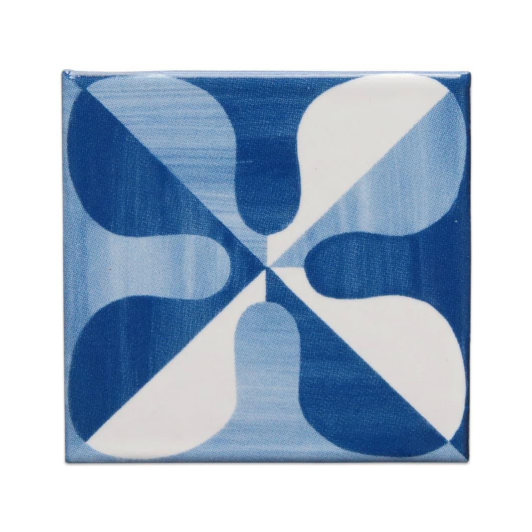 ジオ・ポンティ マグネット付き ミニチュアタイル パターン10