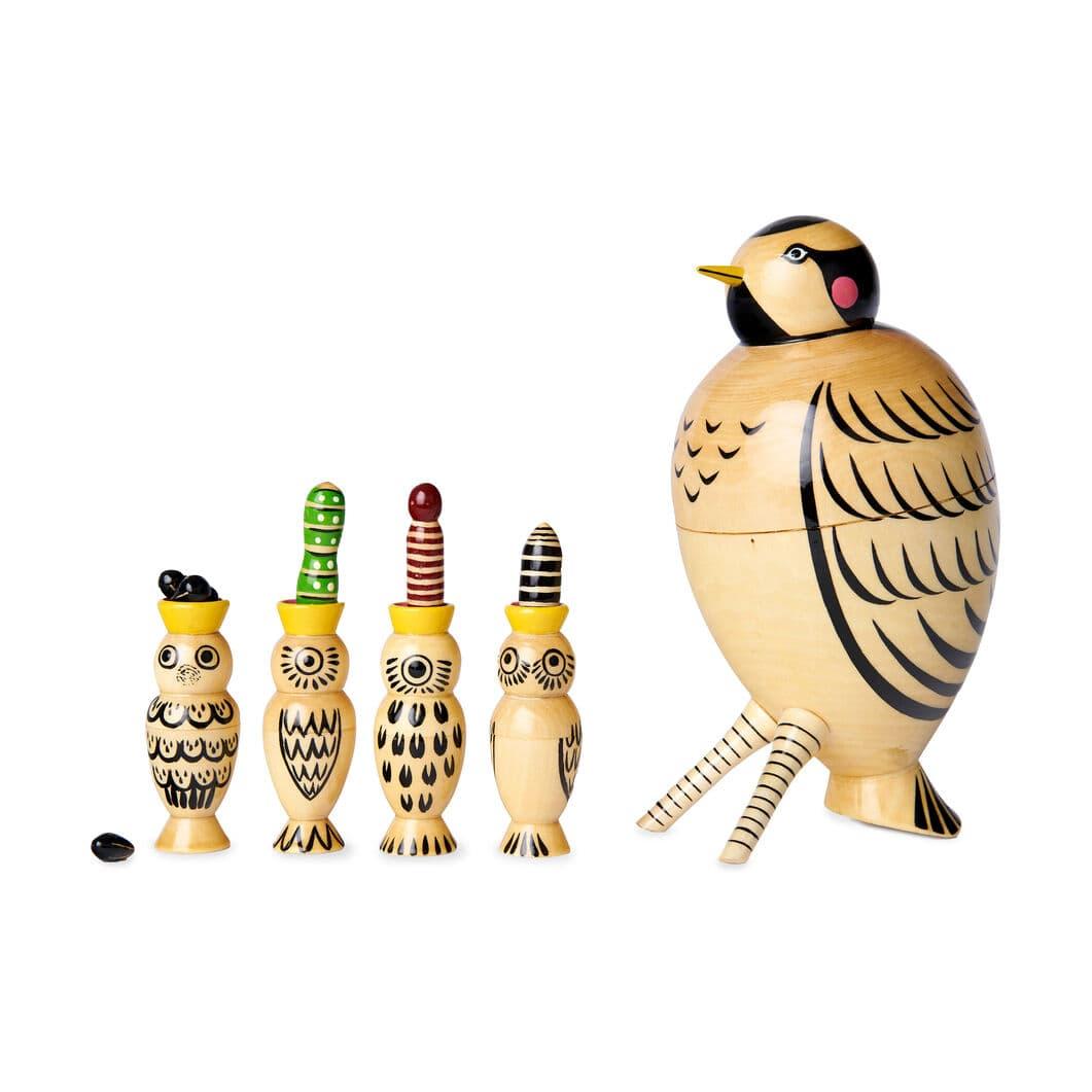 ネスティング マトリョーシカ Mama Bird and Four Babies