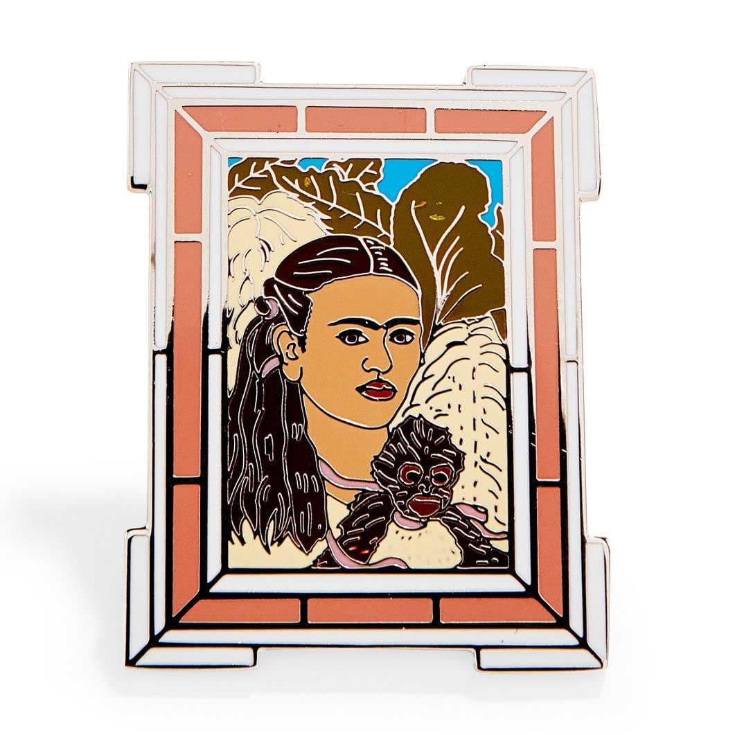 MoMA エナメルピン Frida Kahlo