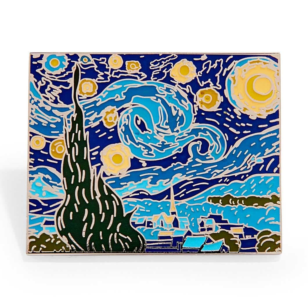 MoMA エナメルピン Vincent van Gogh