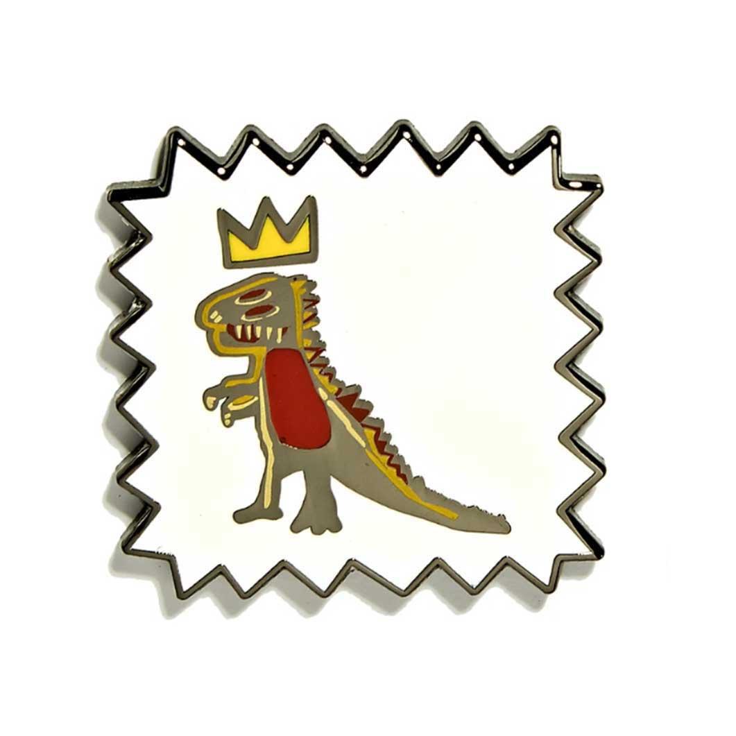 バスキア:ピン Dinosaur