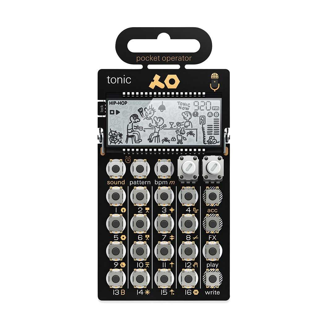 ポケット シンセサイザー PO-32 Tonic