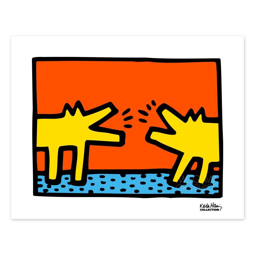 MoMA Design Storeキース・ヘリング:UNTITLED 1989 ポスター