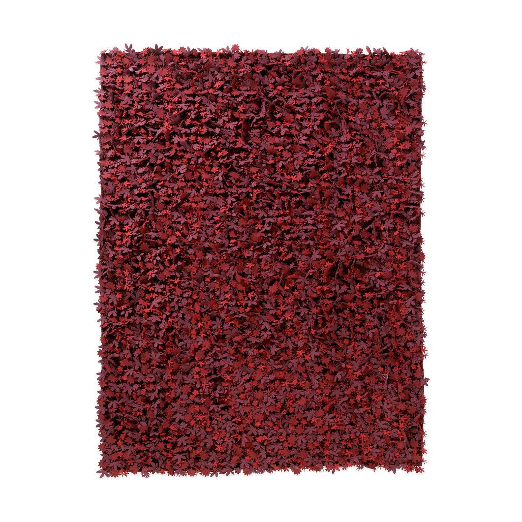 赤 ラグ MoMA