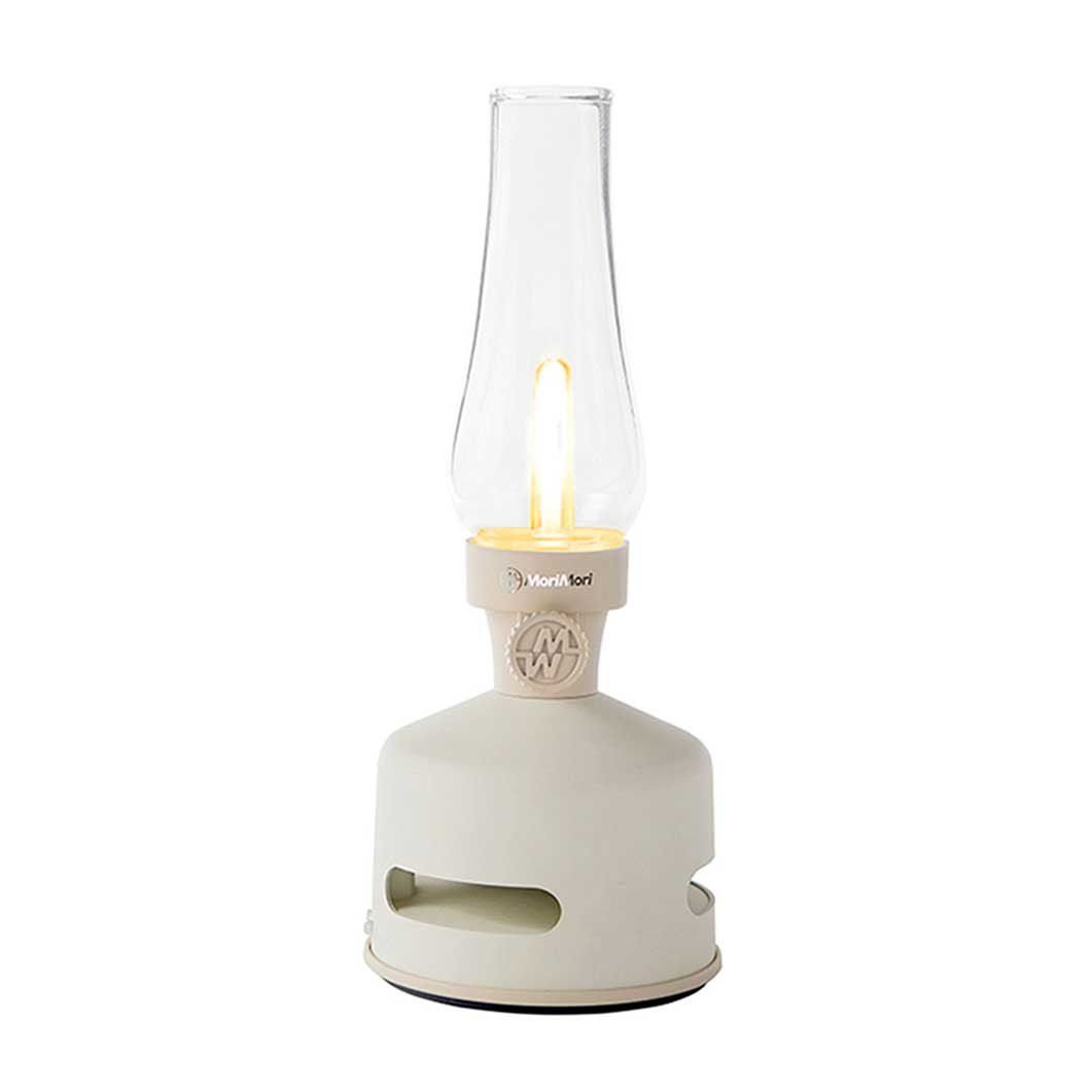 LED ランタンスピーカー ホワイト
