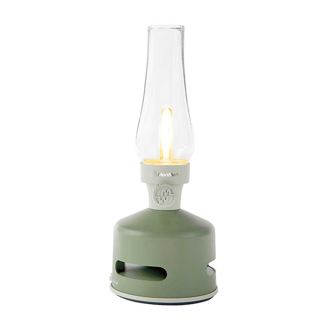 LED ランタンスピーカー グリーン