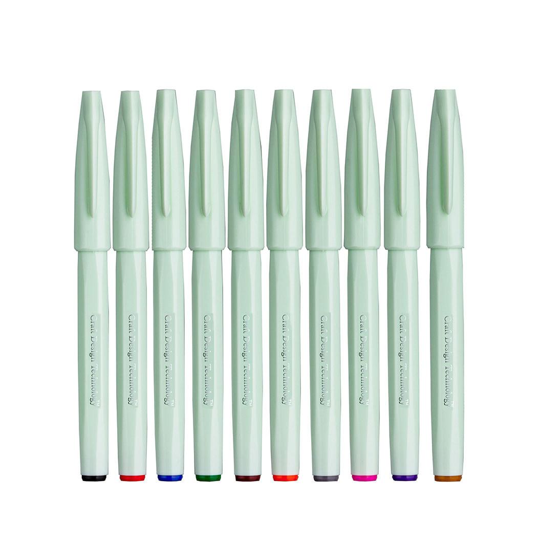 筆タッチサインペン 10本セット