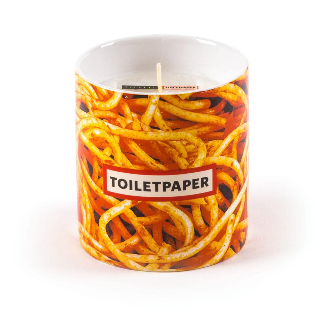 Seletti Wears Toiletpaper キャンドル Spaghetti