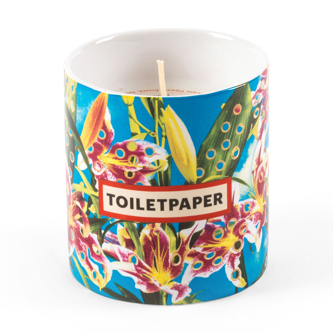 Seletti Wears Toiletpaper キャンドル Flowers With Holes