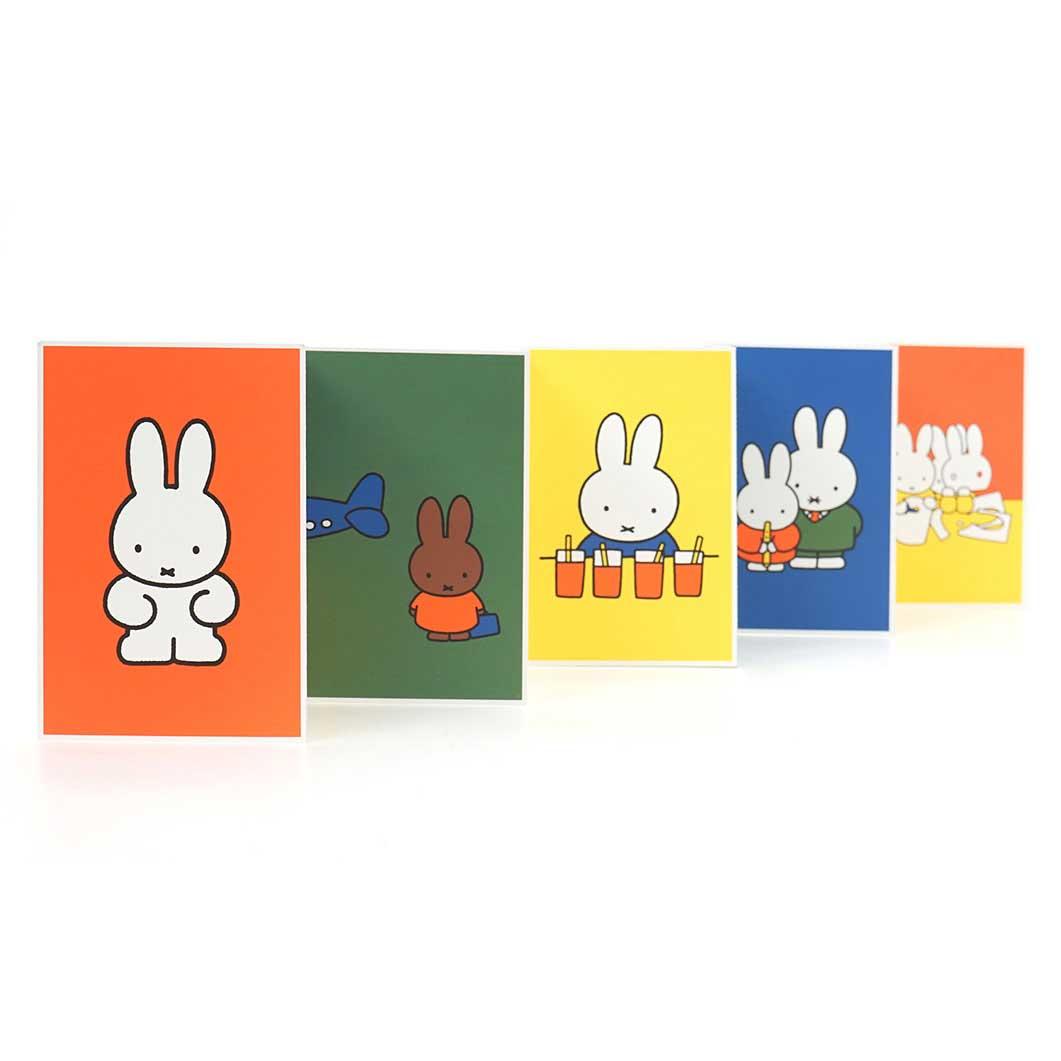 ミッフィー ポストカードセット Miffy and Friends