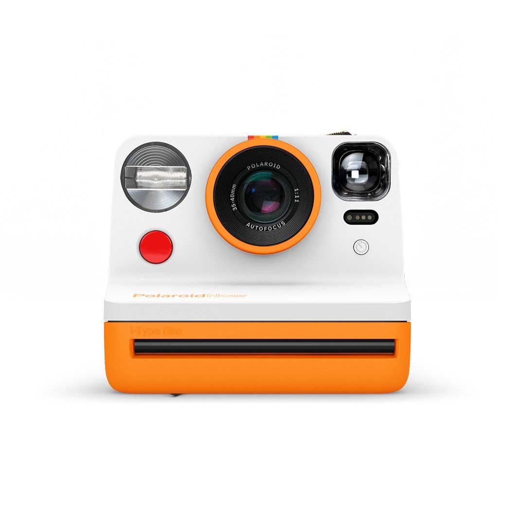 MoMA Design Storeポラロイドカメラ Polaroid Now オレンジ